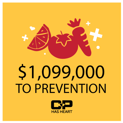 CP Has Heart donates $356,000 for Heart Prevention