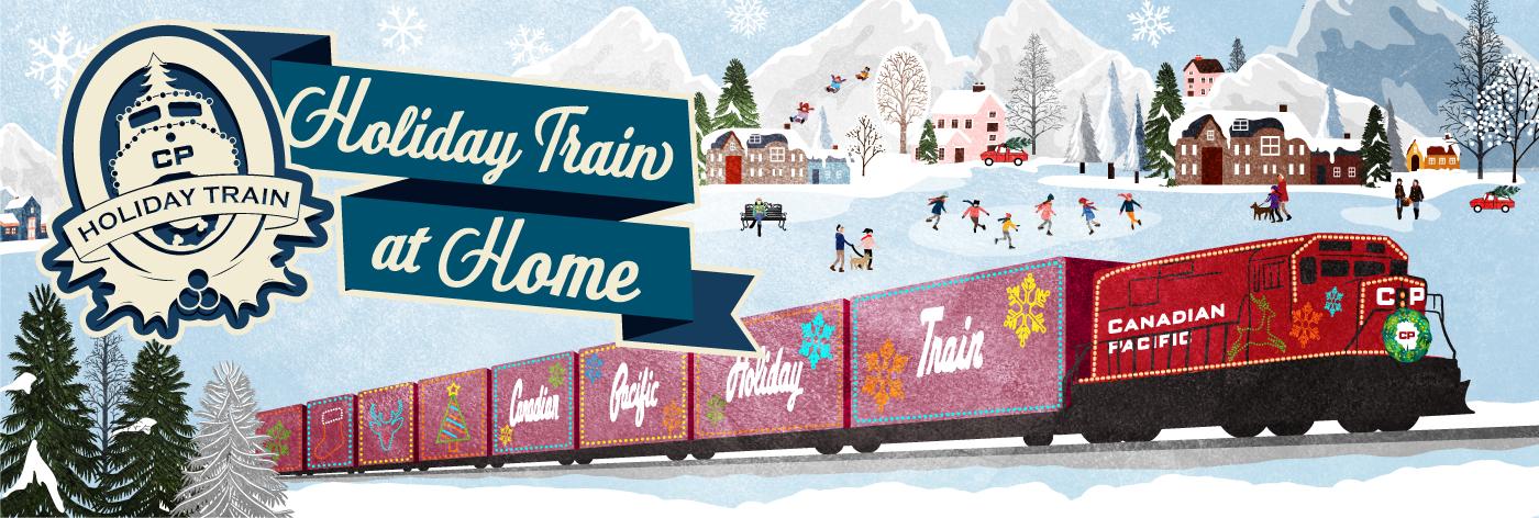 2021 Holiday Train at Home