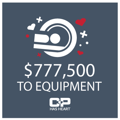 CP Has Heart donates $480,000 for heart-saving equipment