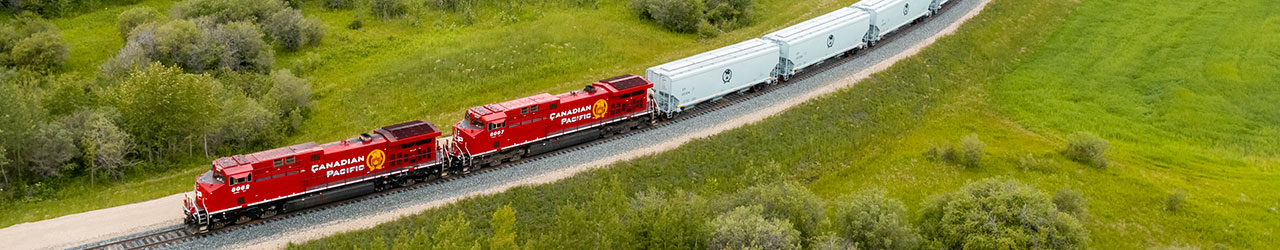CP's new high-capacity grain hopper cars