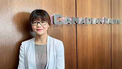 Wenyi Cui, Manager, Corporate Reporting