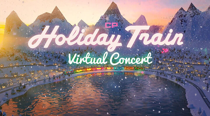 Holiday Train at Home concert video