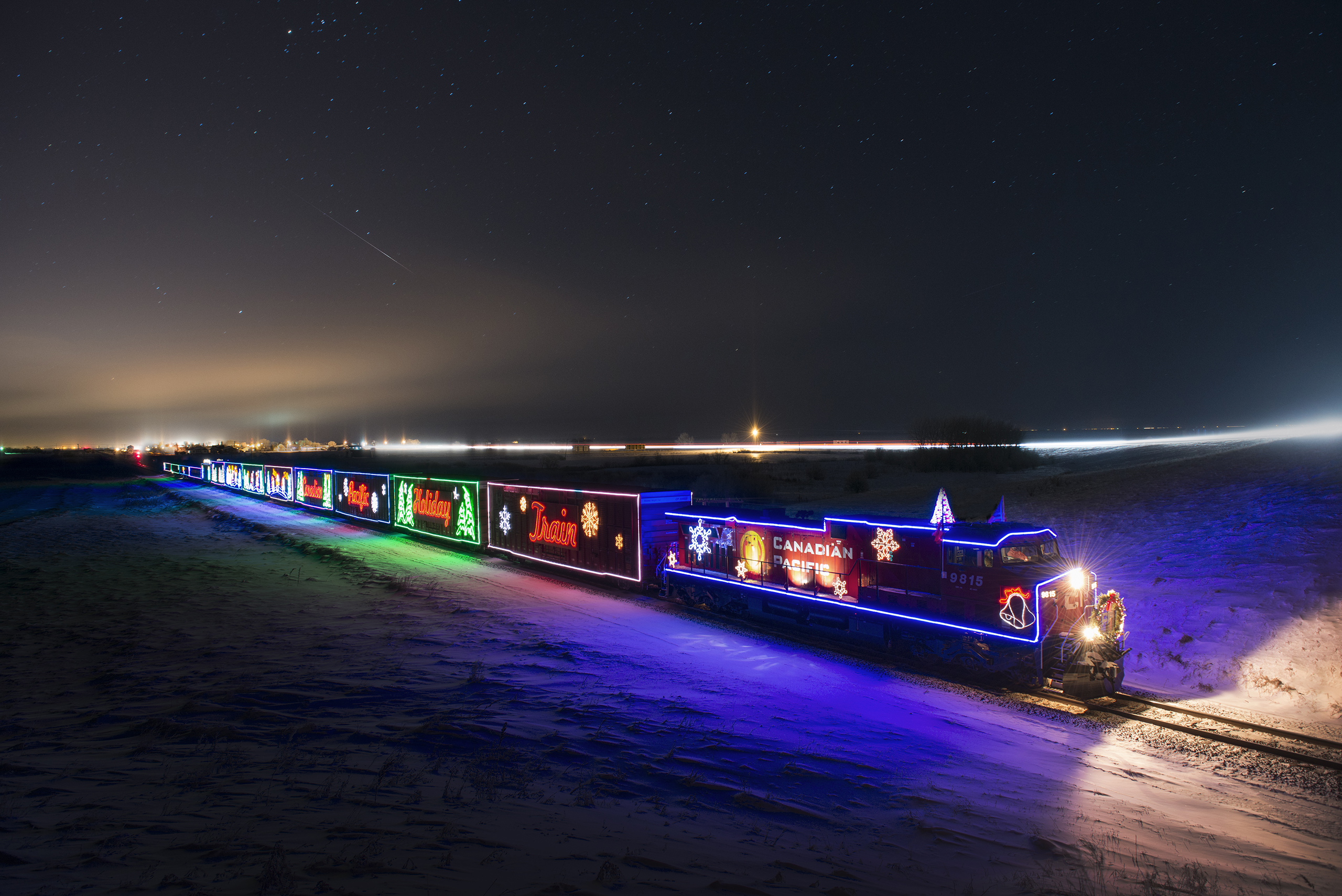 Canadian Pacific Holiday Train Schedule 2019 Photos & video