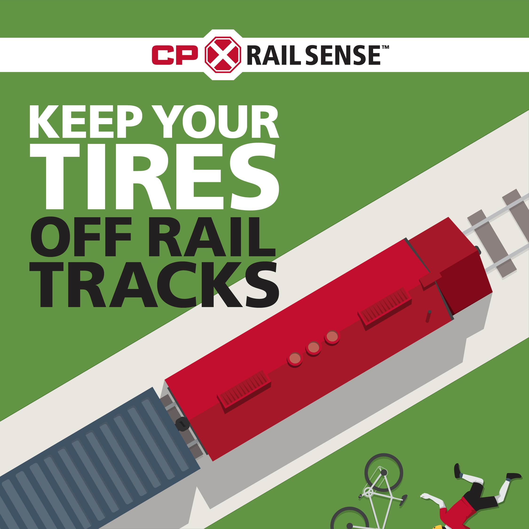Stop Track Tragedies by having CP RailSense